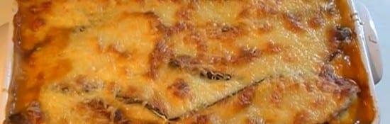 recette de la moussaka