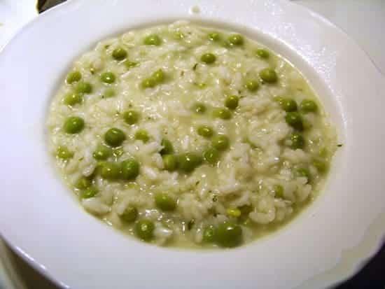 risi e bisi, le risotto aux petits pois