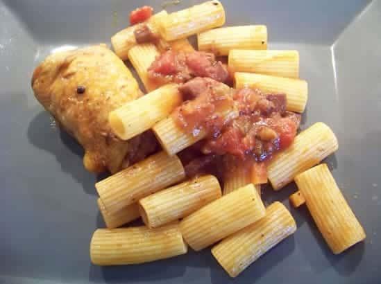 macaronade au poulet