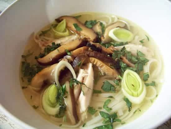 soupe de poule au gingembre