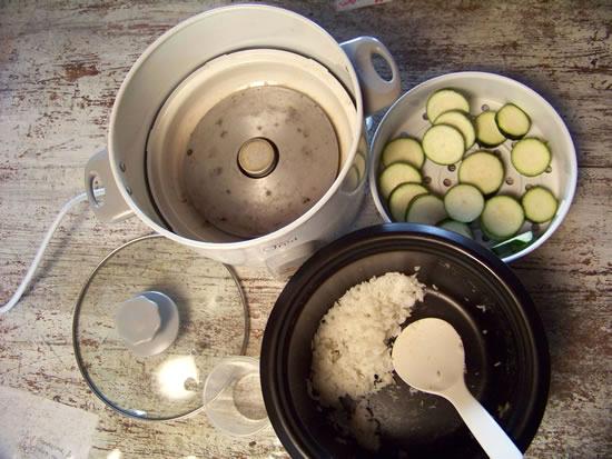 rice cooker ou cuiseur à riz
