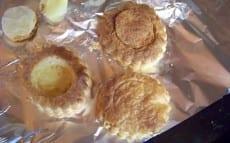 bouchées en pâte feuilletée