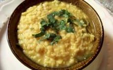 dal aux feuilles de curry
