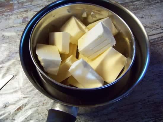beurre au bain-marie