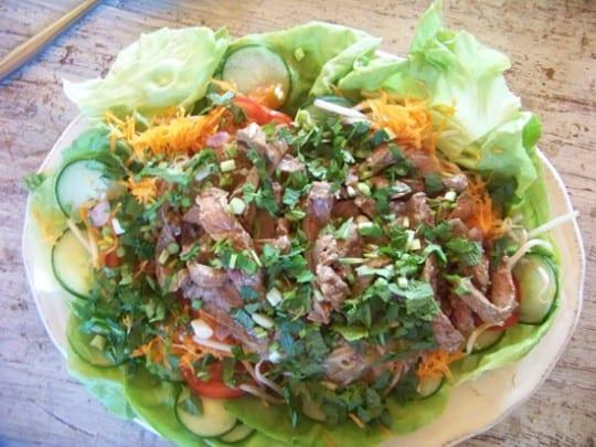 salade thai au boeuf