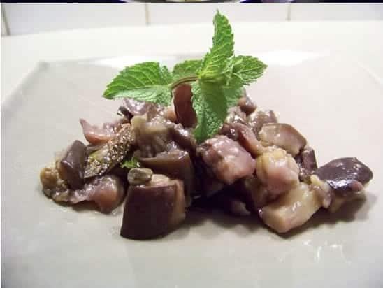 Aubergines aigres douces for Cuisine pied noir