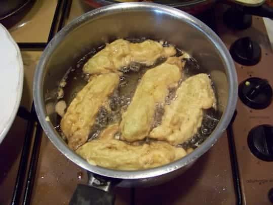 beignets de farine de manioc