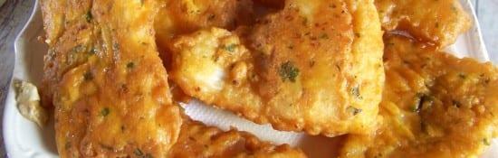 beignets de poisson farine de riz