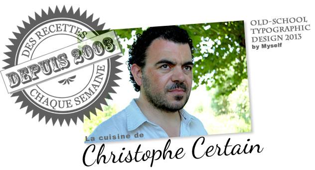 christophe certain cuisine