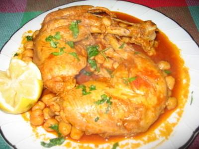 Chitcha Djej (poulet en sauce – Liban)