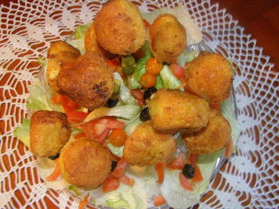 Les cromesquis gourmands de Normandie au camembert