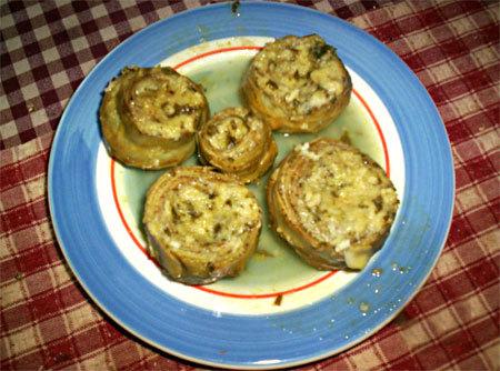 Artichauts au Parmesan
