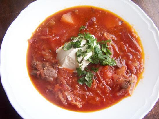 bortsch : la recette de la soupe russe