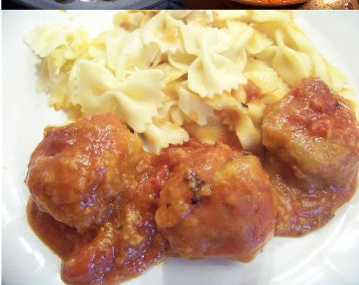 boulettes de viande – recette à la tomate