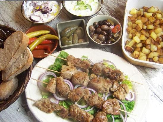 brochettes d'agneau marinées façon kebab
