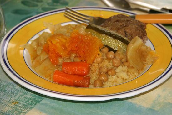 Couscous mémé – recette de couscous aux trois viandes et légumes
