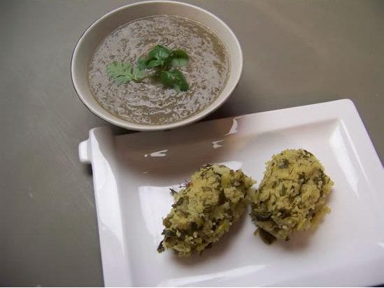 kouirettes – boulettes de semoule aux herbes