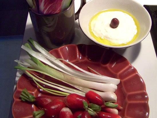 Labneh :  labneh  fromage frais libanais