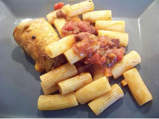 macaronade au poulet à ma façon