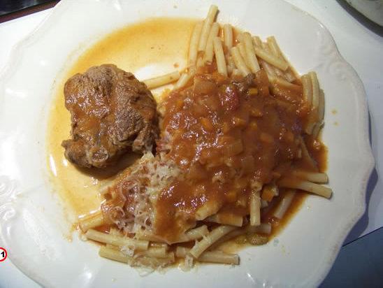 La macaronade au boeuf bonoise for Cuisine pied noir