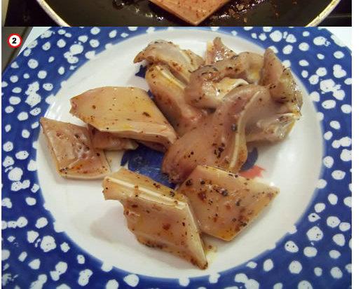 Oreilles de porc en tapas