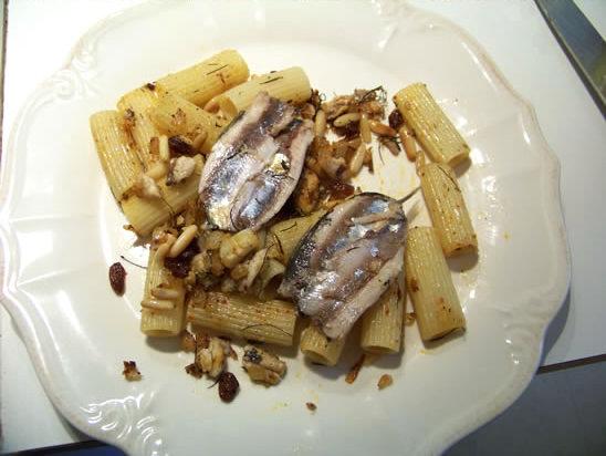 pâtes aux sardines et au fenouil