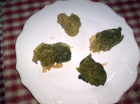 Feuilles de choux farcies dolmas for Cuisine pied noir