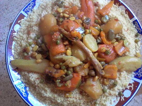 couscous marocain au veau