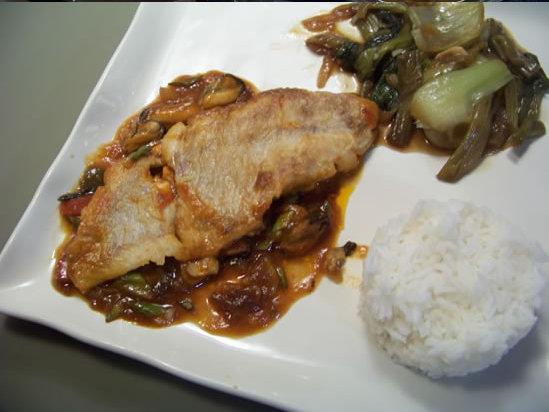 poisson sauce aigre-douce
