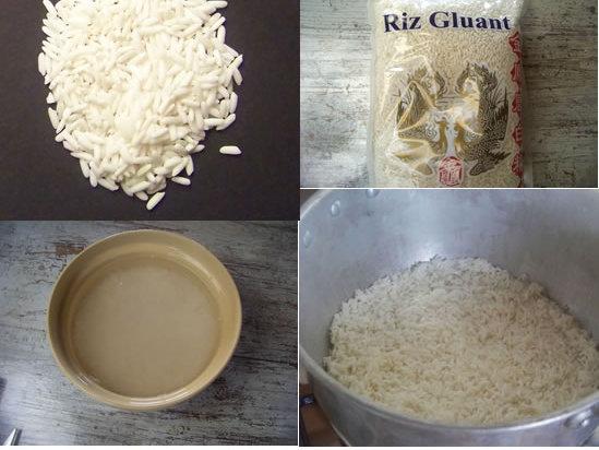 Riz gluant comment le cuisiner - Comment cuisiner les vermicelles de riz ...