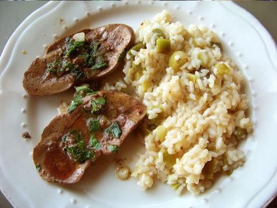 Rognons po l s ail et persil - Cuisiner rognons de porc ...