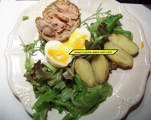salade chic et rapide
