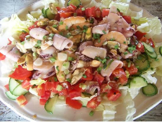 Recette Salade marine d'hiver