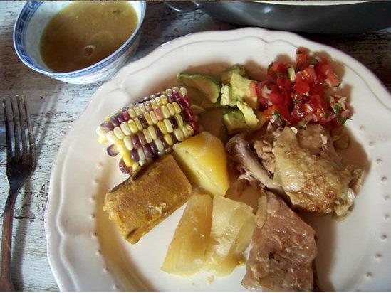 Sancocho columbiano (pot au feu à la manière colombienne)