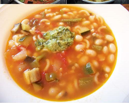 Recette soupe d'été aux haricots
