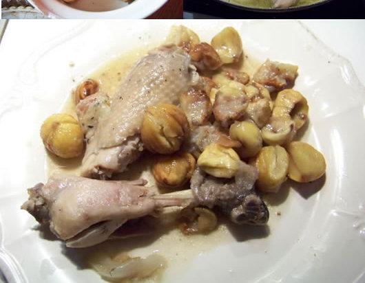 tajine de poulet aux châtaignes
