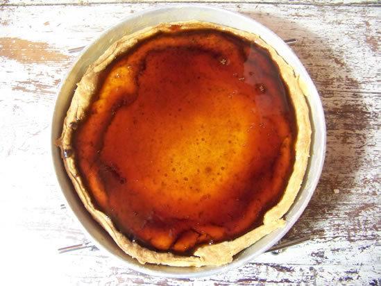 Tarta de queso – tarte au fromage frais, citron et caramel