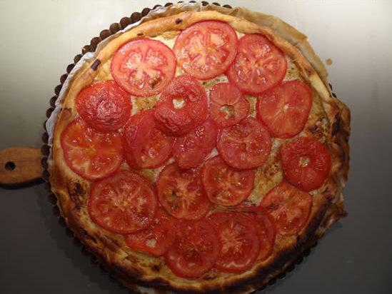 Tarte à la tomate – la recette facile