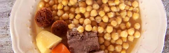 Olla ma fa on le pot au feu l 39 espagnole - Cuisine pied noir espagnole ...
