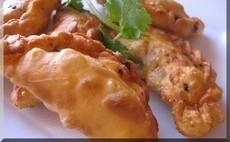 recette de samboussik au poisson
