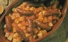 recette de Merguez aux pommes de terre et aux oeufs