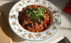 recette de Chili con carne a ma facon