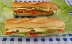 recette de Sandwich végétarien