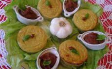 recette de Flan d'ail au fromage blanc