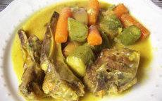 recette de agneau aux légumes de printemps
