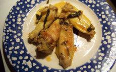 recette de Ailerons de poulet sautés
