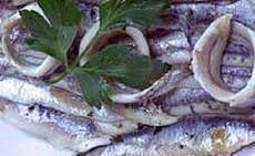 recette de Anchois marinés au citron