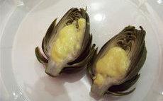 recette de Recette Petits artichauts à l'aïoli