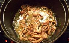 recette de Calamars à la florentine