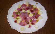 recette de carpaccio de thon – variante